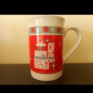 Christmas Package Red Holiday Coffee Mug Cup